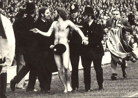 Historical sports photography Streaker1