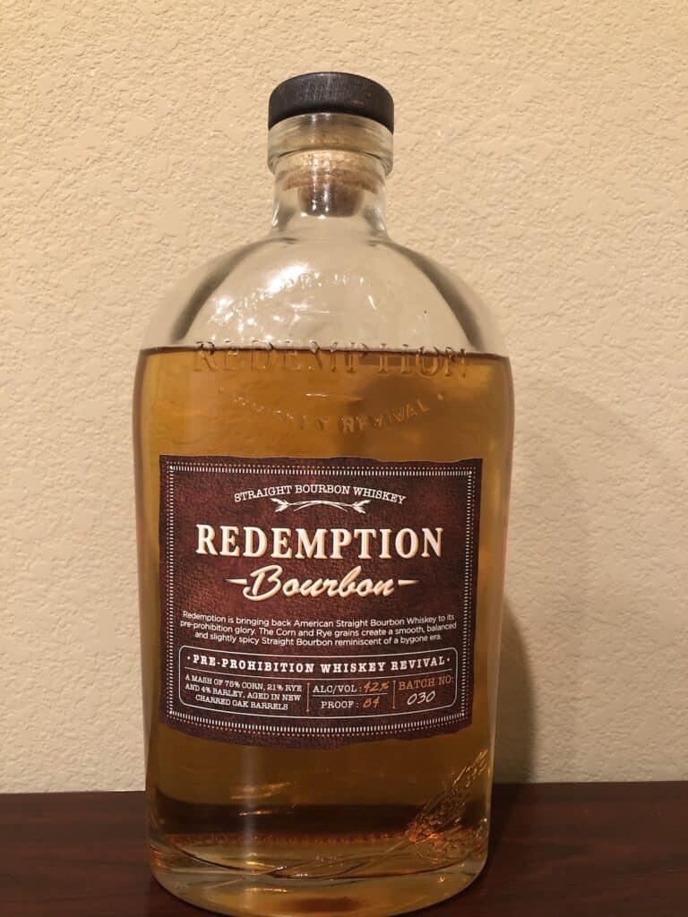 Redemption Bourbon - Front