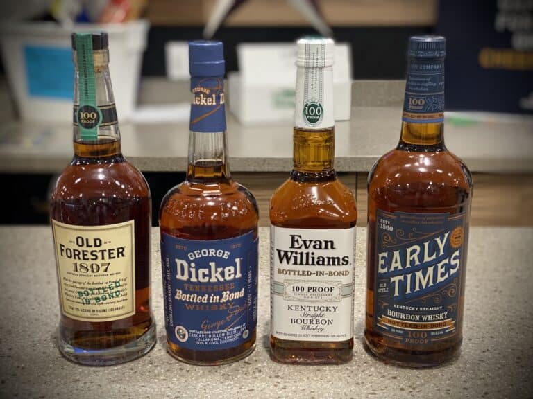 What is Bottled in bond