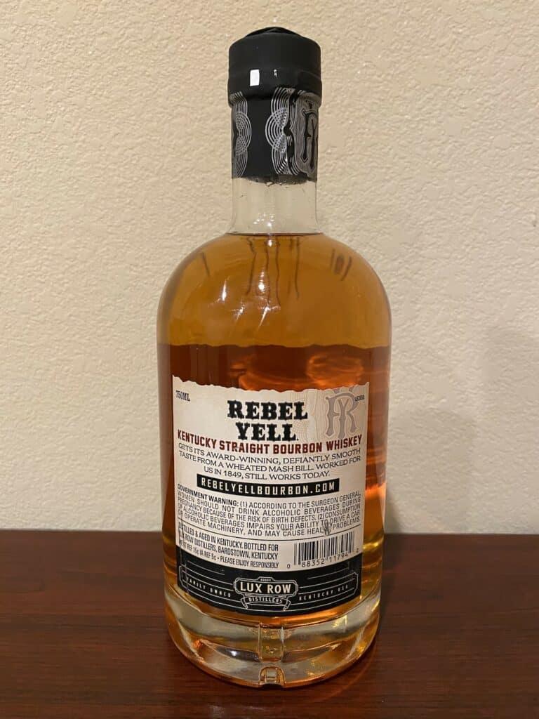 Rebel Yell Bourbon back
