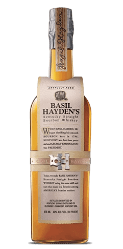 Basil Hayden's Bourbon bottle