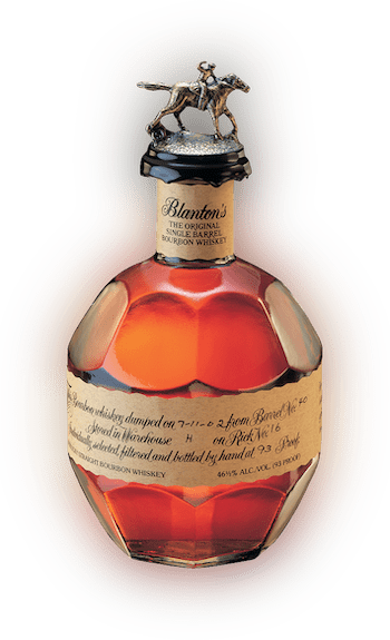 Blanton's Single Barrel Bourbon bottle