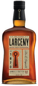 Larceny Bourbon bottle