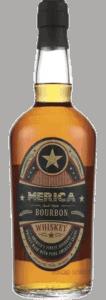 Merica Small Batch Bourbon bottle