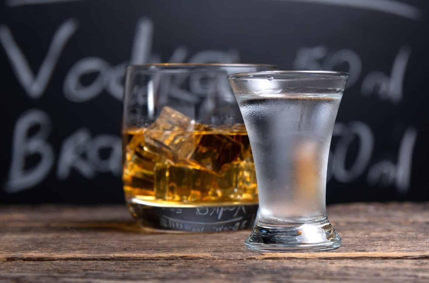 Vodka vs Whiskey