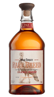 Wild Turkey Rare Breed Bourbon bottle