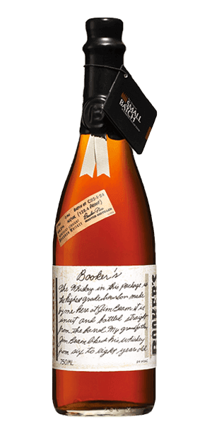 Booker's Bourbon bottle