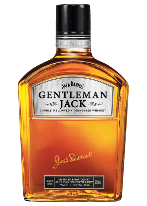 Gentleman Jack Whiskey bottle