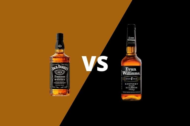 Jack Daniels vs Evan Williams