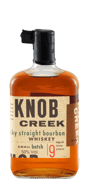 Knob Creek Small Batch Bourbon bottle