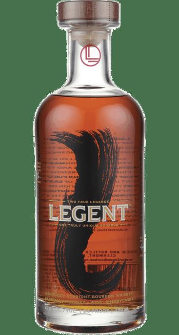 Bottle of Legent Kentucky Straight Bourbon whiskey
