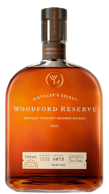 Woodford Reserve Straight Bourbon Whiskey bottle