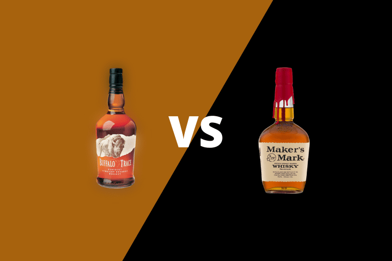 Buffalo Trace Bourbon vs Maker's Mark Bourbon