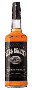 Ezra Brooks Bourbon bottle