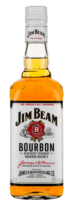 Jim Beam White Label bottle