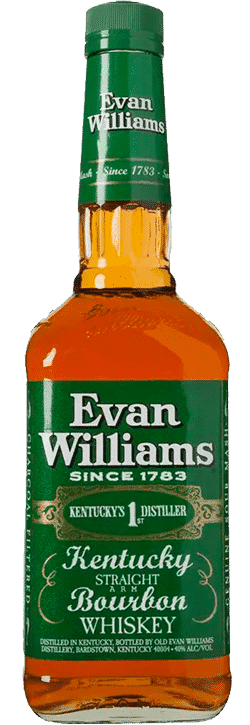 Evan Williams Green Label bottle