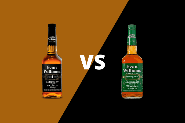 Evan Williams Black Label vs Green Label