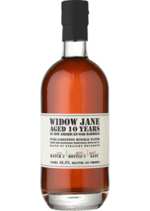 Widow Jane 10 Year Bourbon bottle