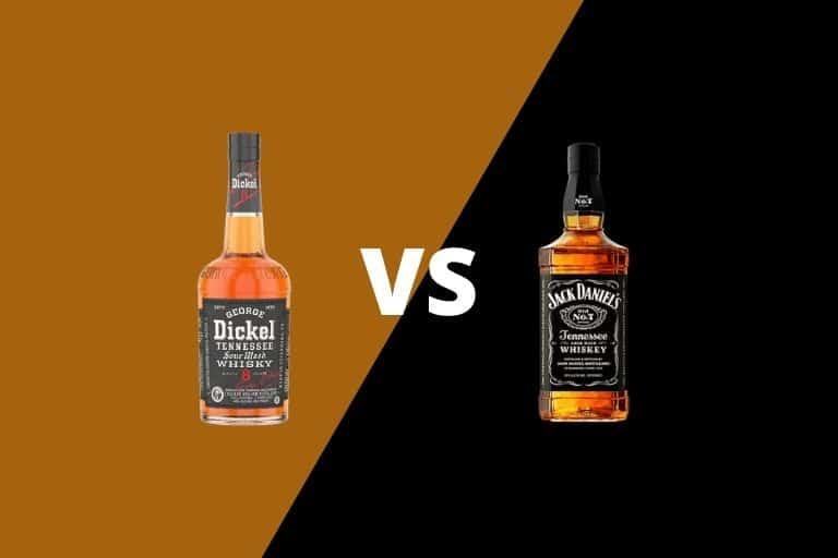 George Dickel vs Jack Daniel's