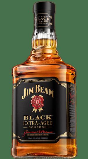 Jim Beam Black Label Bourbon bottle