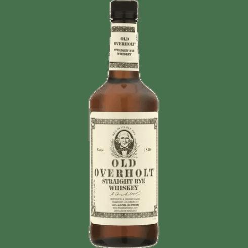 Old Overholt Rye bottle