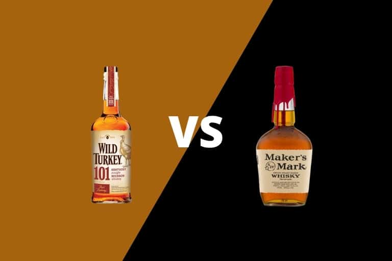 Wild Turkey 101 vs Maker's Mark