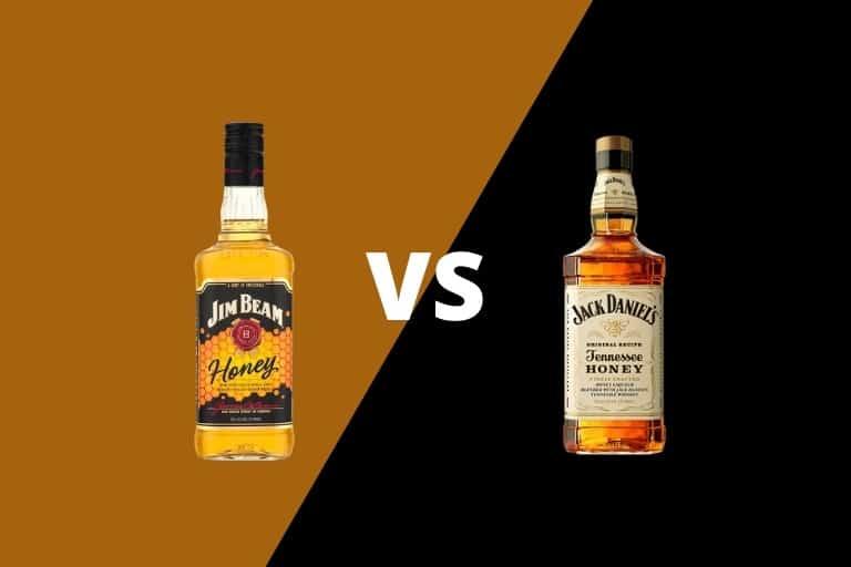 Jim Beam Honey vs Jack Daniels Honey