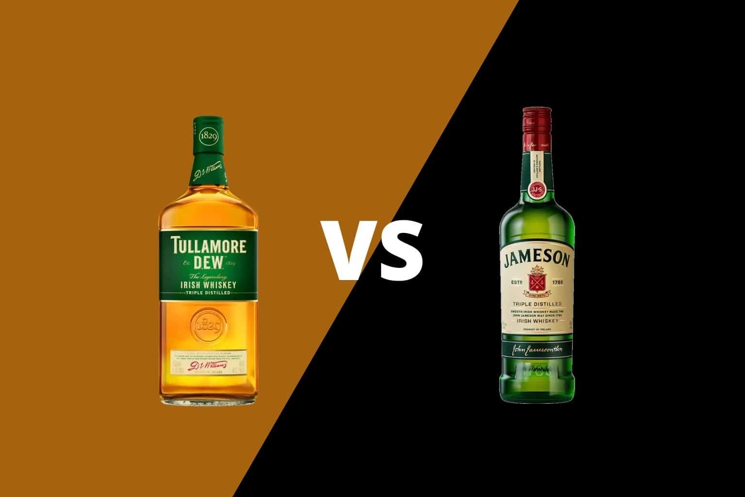 Tullamore DEW vs Jameson