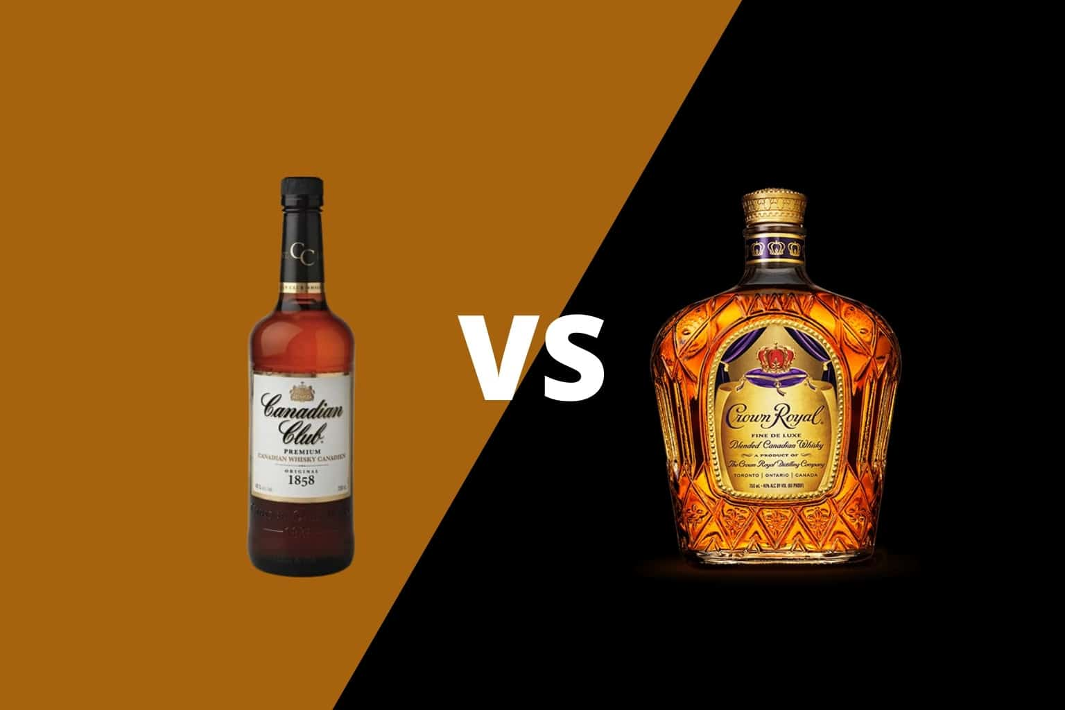 Canadian Club vs Crown Royal