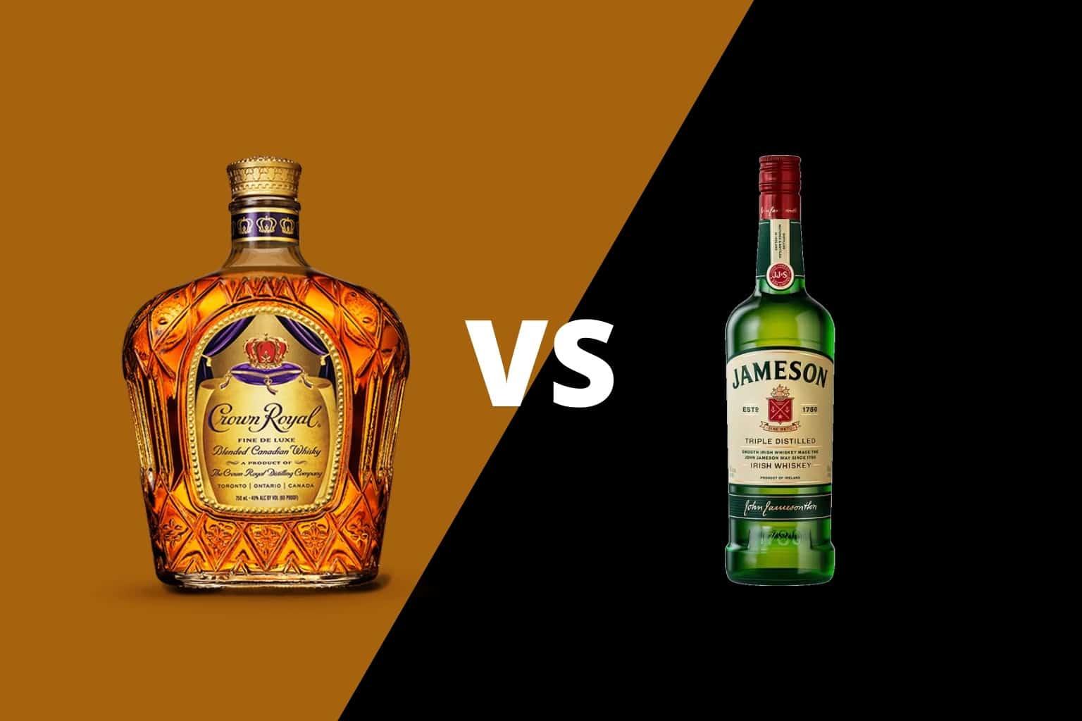 Crown Royal vs Jameson
