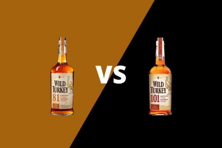 Wild Turkey 81 vs 101