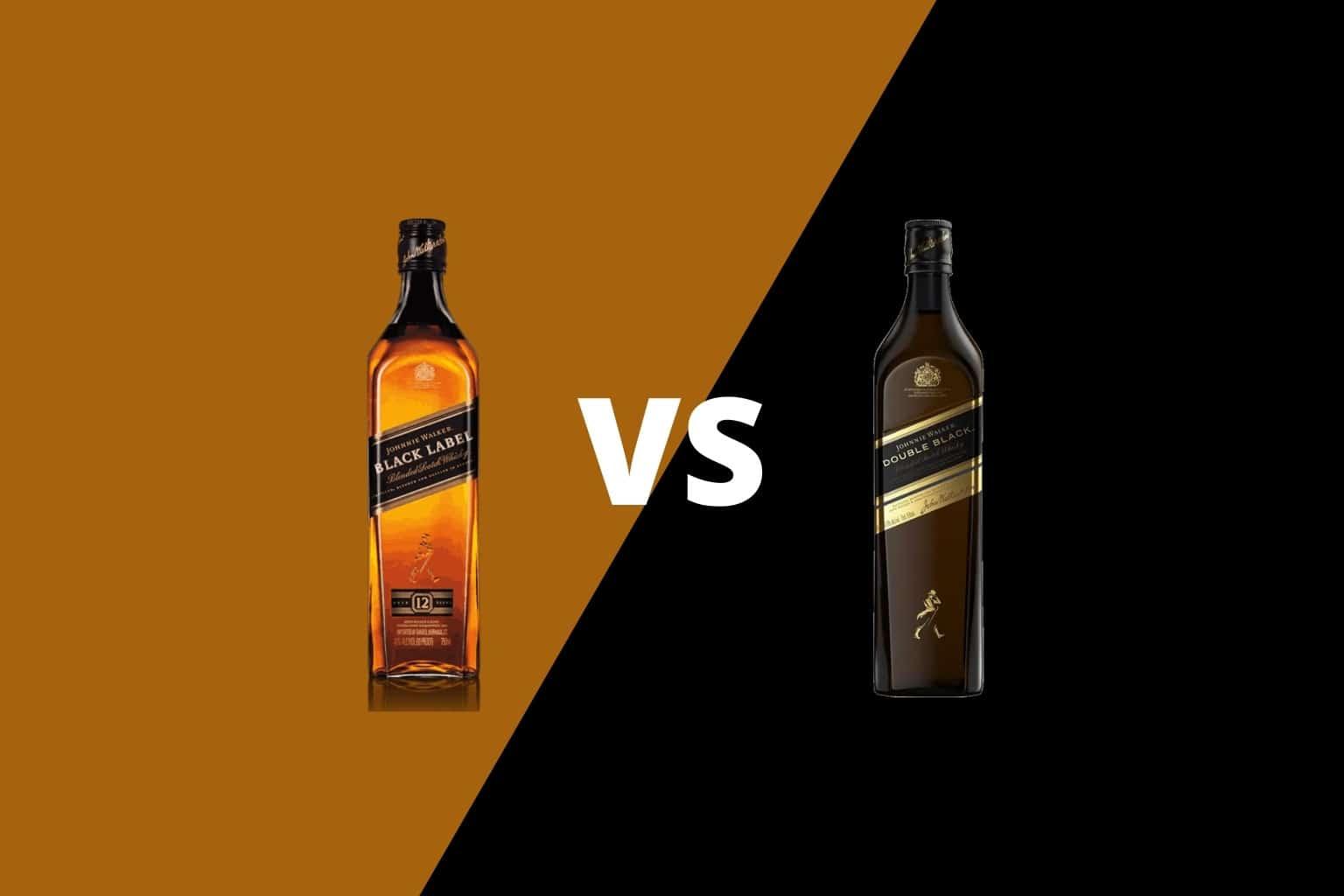 Johnnie Walker Black vs Double Black