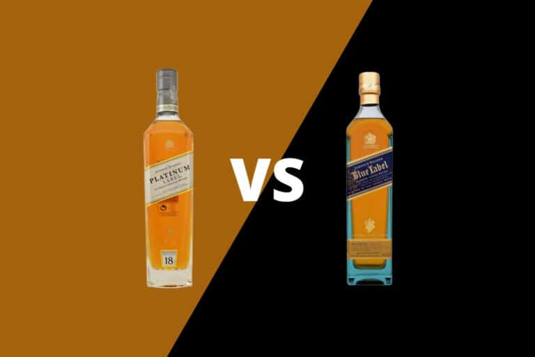 Johnnie Walker Platinum vs Blue
