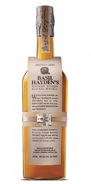 Basil Hayden's Bourbon bottle