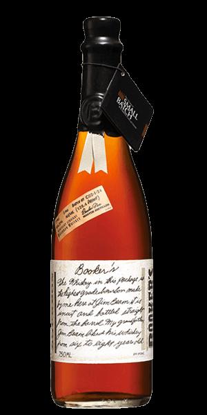 Booker's Bourbon bottle
