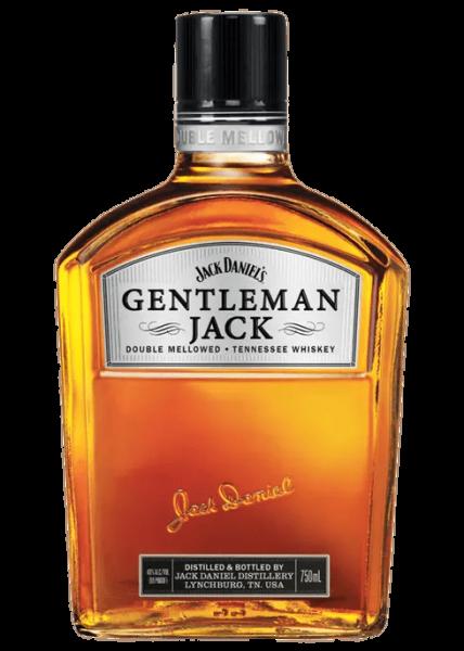 Gentleman Jack Whiskey bottle