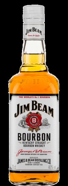 Jim Beam White Label bottle