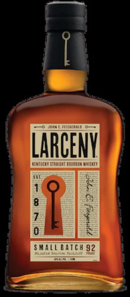Larceny Bourbon bottle