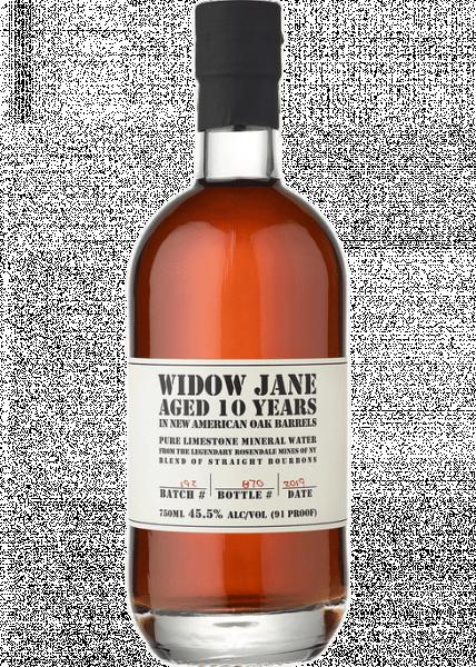 Widow Jane 10 Year Bourbon bottle